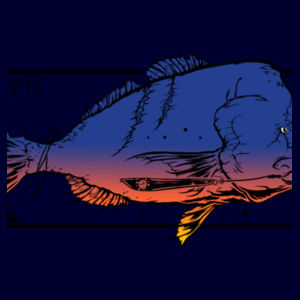 FISH'ON COLOUR - Mens Shadow Tee Design