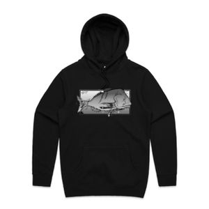 FISH'ON  - Unisex Stencil Hoodie Thumbnail