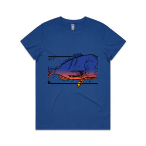 FISH'ON COLOUR - Womens Maple Tee Thumbnail